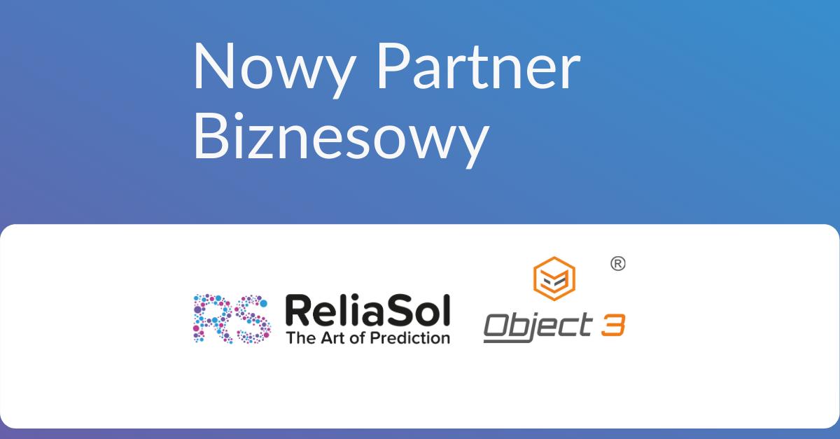 Współpraca partnerska ReliaSol i Object 3
