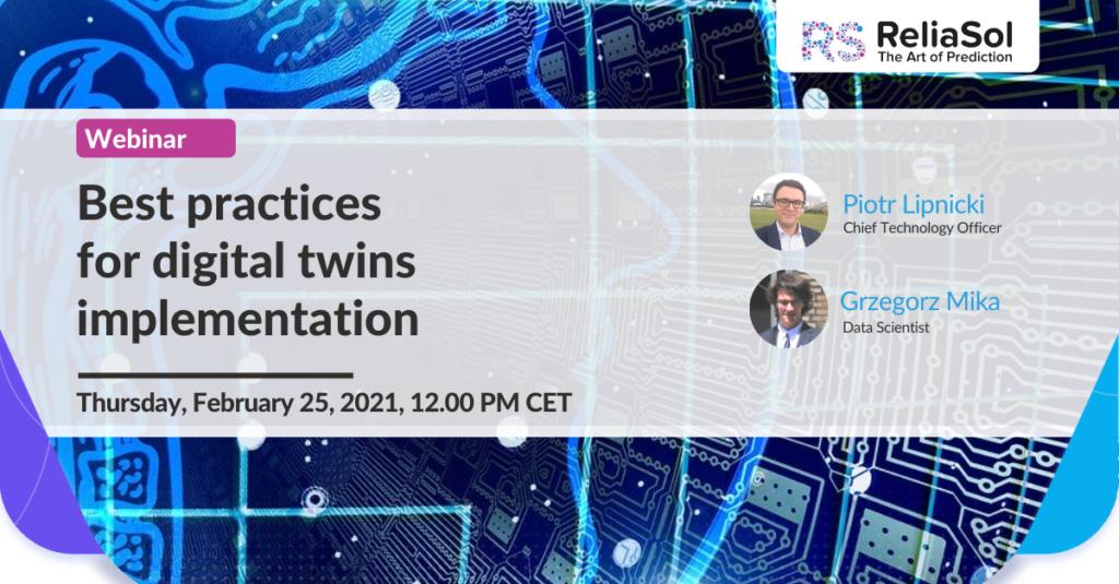 best practices for digital twins implementation