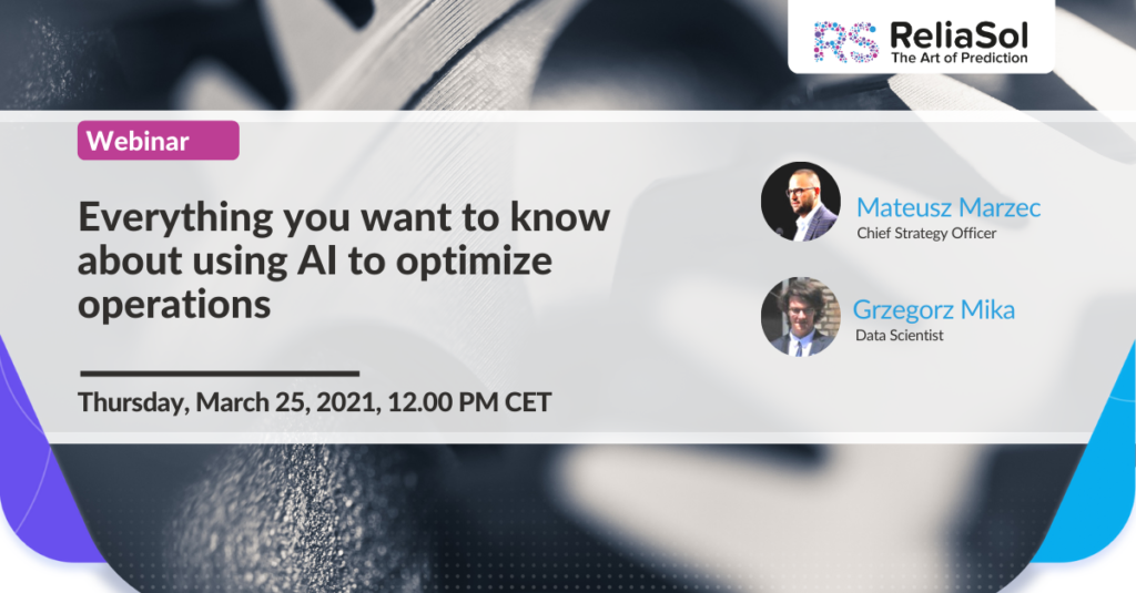 using AI to optimize operations