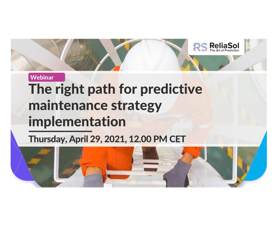 Predictive Maintenance strategy implementation