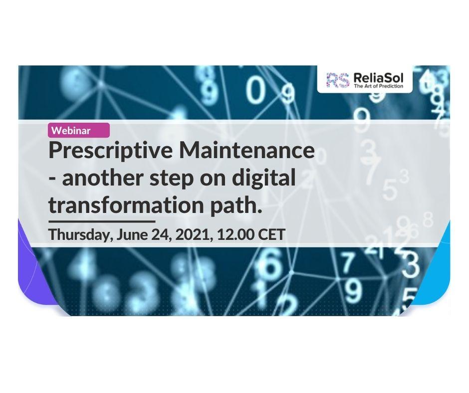 prescriptive maintenance